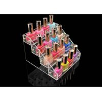 Buy Acrylic Nail Polish Display Stand Cosmetic Custom Retail Displays at wholesale prices
