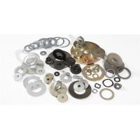 Quality Round Shape Prototype Machined Parts , Metal Machining Services For Spring Steel Washers for sale