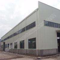 China Large Span Structural Steel Prefabricated Warehouse Buildings In Steel for sale