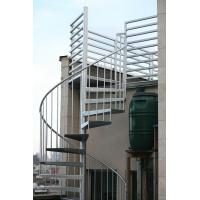 Quality Duplex use spiral staircase with stainless steel railing design for sale