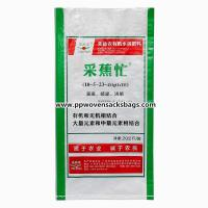 Quality BOPP Film Laminated Woven Polypropylene Sacks Custom Packaging Bags for Organic Element for sale