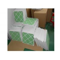 Buy Disposable Z - Line Pleated Panel Air Filters , Industrial Air Purifier With Washable Filter at wholesale prices