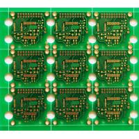 Quality Green soldemask heavey copper pcb , double sided copper clad printed circuit board for sale