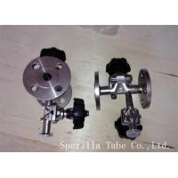TP304 TP316L SF1 Polished Santiary Fittings Valves For Beverage Dairy Wind Equipment for sale