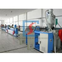Quality Twin Screw Extruder Plastic Extrusion Line , PP Strapping Band Production Line for sale