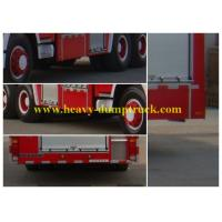 China Fire Fighting Vehicles196HP Red Color Diesel pumper electric devices for city and forest on sale