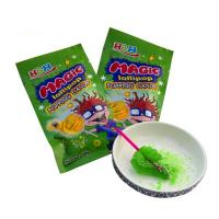 China Hand Shape Lollipop Popping Candy Strawberry Flavor For Convenience Store on sale