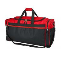 Quality Two Tone Polyester Gym Duffel Bag Waterproof For Outdoor Activity / Travel for sale