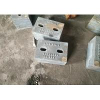 Quality High Cr Cast Iron wear bar 8x8 hardness up to  HRC57 for ball mill for sale