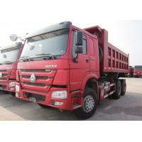 China HOWO 6*4 10 Wheeler Euro 2 Heavy Duty Dump Truck 20t - 30t With 336 HP Engine on sale