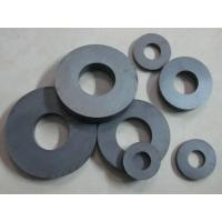Permanent Circular Ferrite Ring Magnet High Magnetic 150mm X 100mm X 25mm for sale