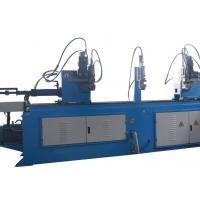 Double Head Large Pipe Bending Machine Electric Auto Feeding High Precision