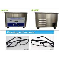 Quality Home Use Sonic Wave Professional Ultrasonic Cleaner For Sunglasses / Eyeglasses for sale