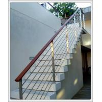 Quality Stainless steel inox metal staircase railing design & stainless steel rod railing for sale