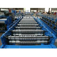 Buy Austria Seaming Lock Accessory Equipment Roller Door Roll Forming Machine Garage at wholesale prices