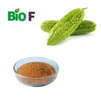 China Brown Fine Vegetable Extract Powder /  Bitter Melon Extract Powder 40% Charantin on sale