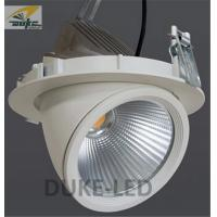 Quality Commercial Electric Gimbaled Hotels COB LED Downlight Directional Spotlights 25w AC100 - 240V for sale