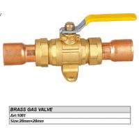 Quality 15mm/22mm Brass Gas valve to Algeria for sale