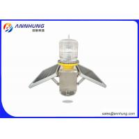 Quality Solar Powered Boat Navigation Lights For 3 - 5 Nautical Miles Navigation for sale