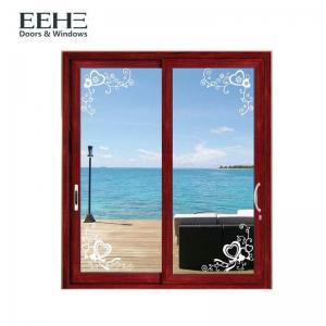 Quality Toughened Glass Aluminum Sliding Patio Doors , Light Weight Aluminium Mesh Sliding Doors for sale