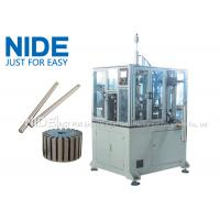 Buy 4KW Rotor Assembly Line , Servo Automatic Armature Commutator Shaft Inserting Machine at wholesale prices