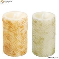 Quality Classical Led Garden Candle Stakes/Candle Carving/Battery Operated Flicker Birthday Candle for sale