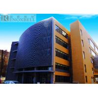 Buy Decoration Exterior Metal Wall Panels For Facade System Cladding Wall at wholesale prices