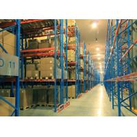 Quality Steel Pallet / Wooden Pallet Double Deep Pallet Racking Systems For Groceries for sale