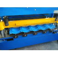 Buy cheap Hydraulic Cutting Roof Glazed Tile Roll Forming Machine PLC Automatic Control from wholesalers