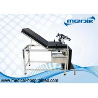 Buy cheap Stainless Steel Gynecology Examination Bed With Foot Stool from wholesalers