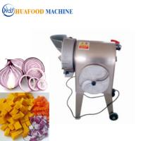 Quality 250KG/H Restaurant Electric Vegetable Cutter High Efficiency 304 Stainless Steel Material for sale