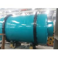 Three Drum Rotary Drum Dryer Mineral Dryer Plant 1500 Shell Diameter for sale