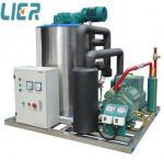 Quality 3 Ton Daily Output Flake Ice Machine With Ice Storage Bin 3P/380V/50Hz for sale