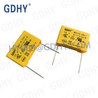 Quality 0.001uf 310VDC X2 Metalized Polyester Film Capacitor Box Shape for sale