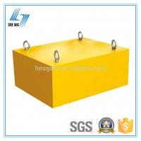 Quality Light Weight Overband Magnetic Separator Heavy Duty Small Size Suspending With Hook for sale
