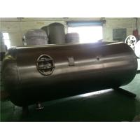 Quality Industrial Stainless Steel Air Compressor Receiver Tanks Double Sided Welding for sale