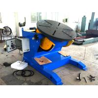 Quality 4500lbs Capacity Tilting Rotary Pipe Welding Positioners with Motor Driven Speed Regulation for sale