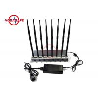 Buy cheap 3 Built In Fans Cell Phone Signal Jammer Aluminum Alloy Radiator Cooling System from wholesalers