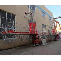 Quality Outside wall aerial work platform in Mast Climbing Platform  Single & Twin Tower for sale