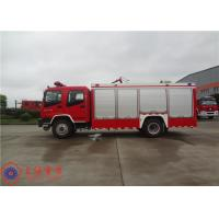 China Gross Weight 16000kg Fire Fighting Vehicles , 4500L Water Container Fire Pumper Truck on sale