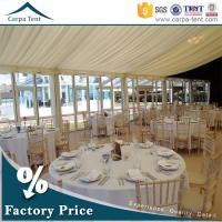 Universal Glass Wall Tent  Clear Span Tents  for Events with Furniture/Floor/Lining for sale