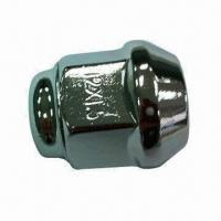 Quality Lug for car alloy wheel of nut with 12x1.5mm thread for sale