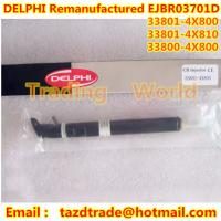 Quality DELPHI Original Original Remanufactured Injector EJBR03701D / 33800-4X800 / 33801-4X810 for sale
