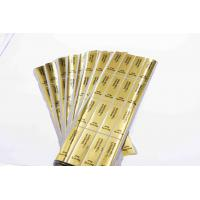 Quality Gold Round Security Self Adhesive Hologram Sticker Labels Semi Gloss Paper for sale