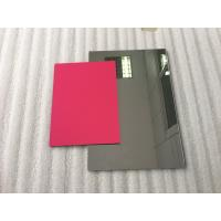 Buy Pearl Red ACP Aluminium Composite Panel Sheets Lightweight With PVDF Painting at wholesale prices