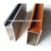 Quality Multifunctional Curtain Wall Aluminium Profiles For Decoration Rectangle Shape for sale