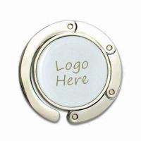 Quality Contractible Handbag Hangers with Embedded Magnets, Measures 46 x 7mm for sale