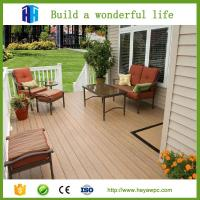 China HEYA factory price wpc vinyl flooring outdoor product decking list on sale