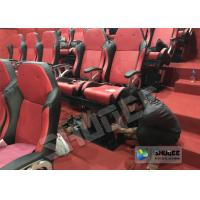 Quality Amusement Park 5D Cinema Equipment With Flat Screen / 6 Seats for sale
