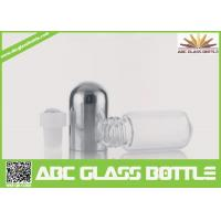 Quality Top Sale Clear Glass Roll On Bottle With Stainless Steel Roller Ball 2ml 3ml 5ml,Perfume White Glass Bottle for sale